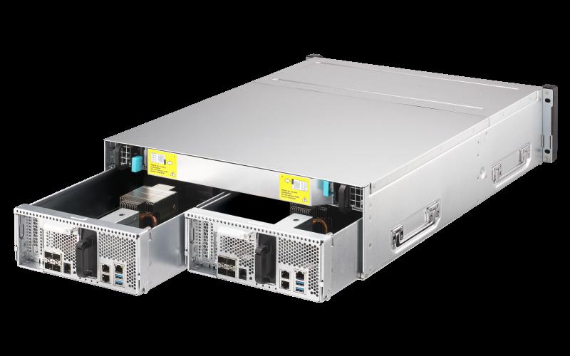 Два контроллера внутри одного серверного корпуса