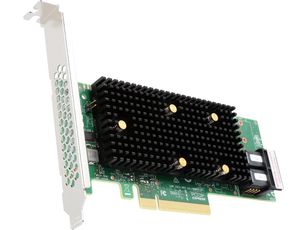 Дисковый контроллер от Broadcom (9400-8i Tri-Mode Storage Adapter)