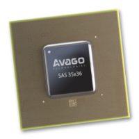 SAS-экспандер Broadcom в виде чипа